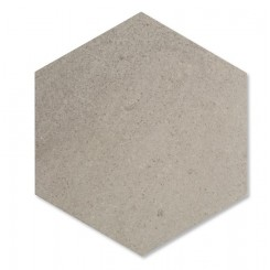 Zenith Lady Gray Hexagon Honed Marble Tile