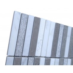 Sample-Esker Portland Gray Bricks Marble Tile