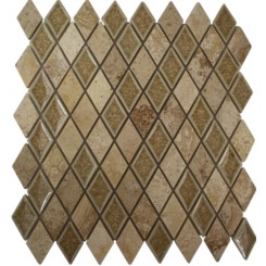 ROMAN COLLECTION DESERT TAN DIAMOND GLASS TILE_1