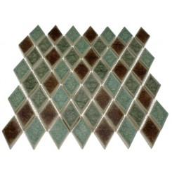 ROMAN COLLECTION VERDE DIAMOND GLASS TILE_MAIN