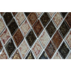 sample-ROMAN COLLECTION IL SUOLO DIAMOND 1/4 SHEET GLASS TILES SAMPLE_MAIN