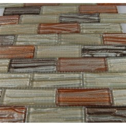 sample-BRIO MERCURY BLEND 1X3 1/4 SHEET GLASS TILES BRICKS SAMPLE_MAIN