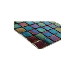 sample-IRIDESCENT INKWELL1x1 GLASS TILES 1/4 SHEET SAMPLE_MAIN