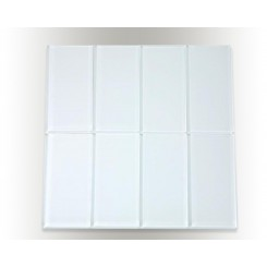 Loft Super White Polished 3&quot; X 6&quot; Glass Tiles