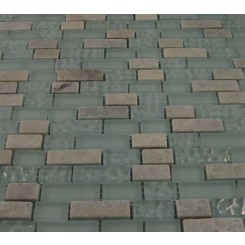 "sample- SEASPRAY BLEND BRICK PATTERN 1/2 X 1/2""  TILES 1/4 SHEET SAMPLE BRICK""_MAIN"