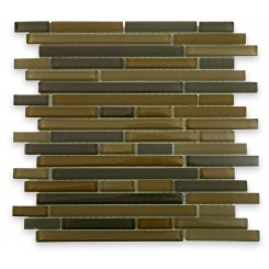 Tao Khaki Glass Tile