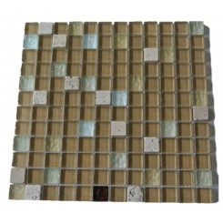 Tassle Glass and Stone Tiles