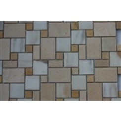 sample-VENETIAN PATTERN CALCUTTA BLEND 1/4 SHEET  TILES SAMPLE_1