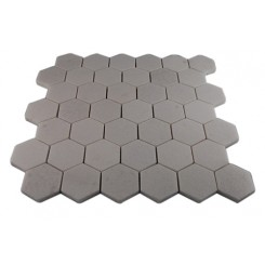 WHITE THASSOS HEXAGON MARBLE MOSAICS_MAIN