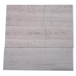 Wooden Beige 4x12 Honed Marble Tile