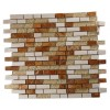 Alloy Series Golden Gate 1/2 X Random Glass & Marble Mosaic Tiles