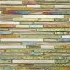 Arcadia Bonsai Tint Random Brick Glass and Slate Tile