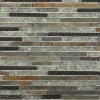 Arcadia Chinkapin Random Brick Glass and Slate Tile