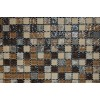 Sample-Barrel Brown Blend 1/2x1/2 1/4 Sheet Tile Sample