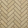 Crema Marfil Herringbone 1x3 Marble Mosaic Tiles