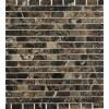Dark Emperador 1/2x1 Marble Mosaic Tiles