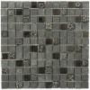 Fusion Kousa 1x1 Marble  Glass  & Metal Tiles
