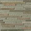 Geological Tao Green Quartz Slate & White Gold Glass Tiles