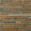 Geological Tao Multicolor Slate & Bronze Glass Tiles