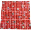 "Hell's Kitchen Blend Squares 1/2"" X 1/2"" Glass & Metal Tiles"