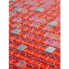 "Sample- Hell's Kitchen Blend Squares 1/2"" X 1/2""  Tile 1/4 Sheet Sample"