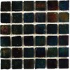 Iridescent Inkwell 1x1 Glass Tile