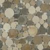 Kinetic Amber Circles Marble Tiles