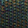 Loft Curve Rainbow Black Marble & Glass Tile