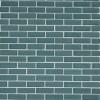Loft Turquoise 1/2x2 Brick Pattern