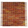 Matchstix Twilight Glass Tile
