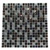 Nimbus Gray Blend Squares Marble & Glass Tile