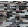 Sample-nimbus Gray Blend Bricks 1/2x2 1/4 Sheet  Tiles Sample Bricks