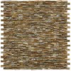 South Seas Pearl 3D Brick Pattern Mosaic Tile