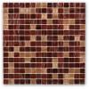 Pomegranite Blend 3/4x3/4 Glass Tile
