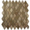 Roman Collection Desert Tan Diamond Glass Tile