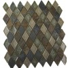 Roman Collection Emperial Slate Diamond Glass Tile