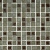 Roman Collection Rosso 1x1 Glass Tile