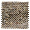 Salt Water Pearls Mini Brick Pattern Tile
