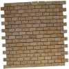 Sample-jerusalem Gold 1/2x1 Tile Classic Brick 1/4sheet Sample