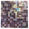 Sample Plum Brule Glass Tiles Sample