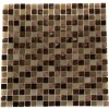 Southern Trail Blend 1/2x1/2 Marble & Glass Tile Squares